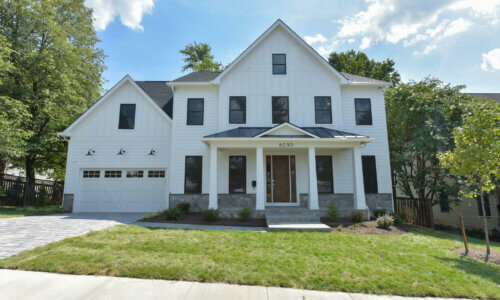 5 Bedroom 4.5 Bath Custom home in North Arlington Virginia