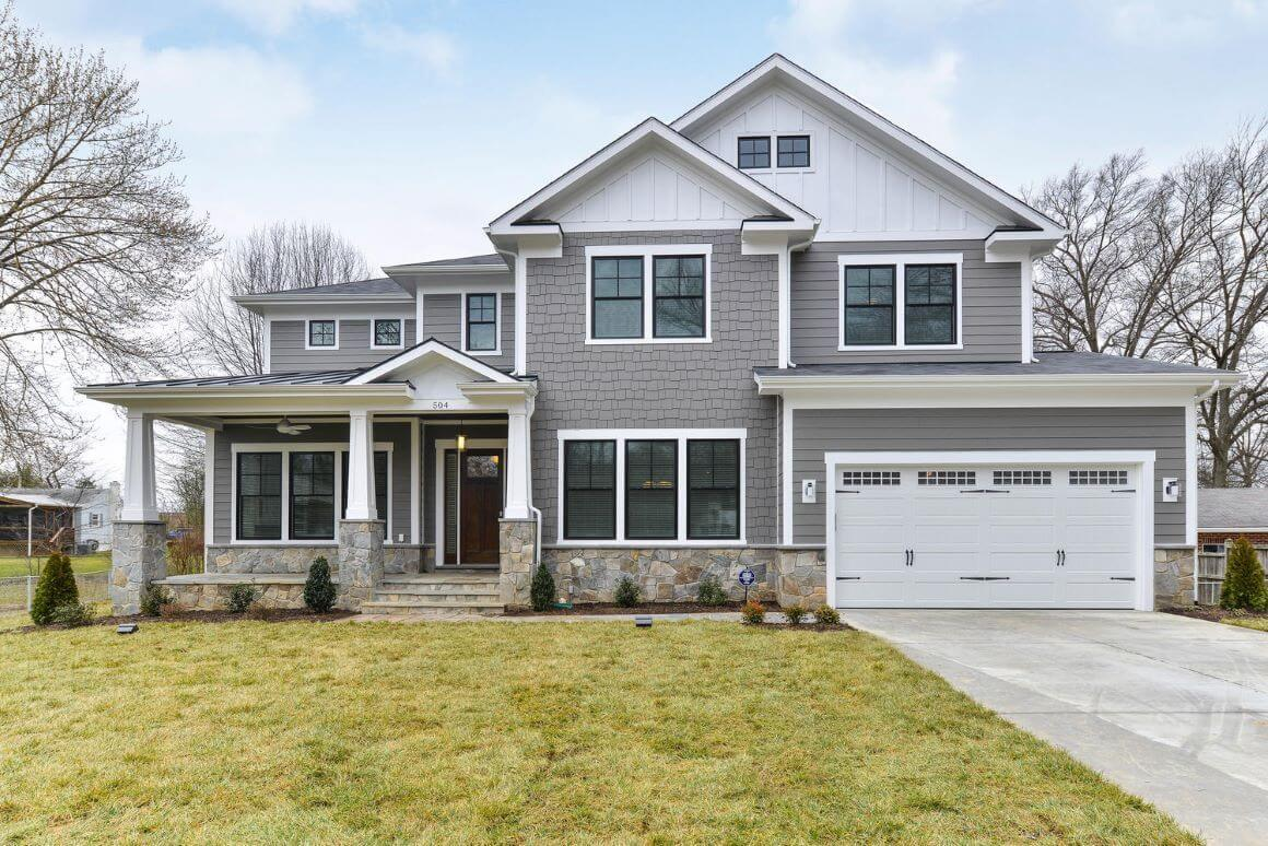 5 Bed, 5.5 Bath Craftsman in Northern Virginia